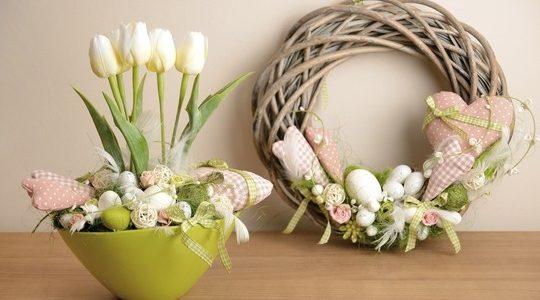 Velikonoční dekorace, Velikonoční aranžmá