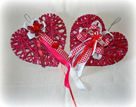 Valentýnské dekorace