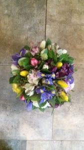 Kód: L009  obsah:  Tulipán, alstromélie, iris, frézie, zeleň