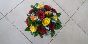 Kód: L026  obsah:  růže krátká mix, zeleň